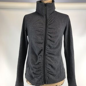 Calvin Klein gray performance zip up size small